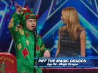 Piff Magiczny Smok w amerykanskim Mam Talent!