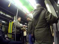McDonalds w tramwaju!