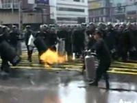 Korea Południowa: protest weteranów