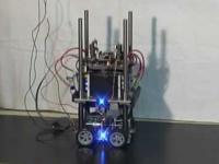 Robot wskakujący na schodki