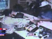 Rabuś podczas napadu sam sobie strzelił w głowę