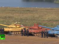 Biathlon czołgów.