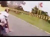 Niedzielna rodzinna przejażdzka na motorku