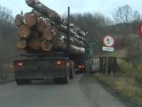 Ciężarówka na moście