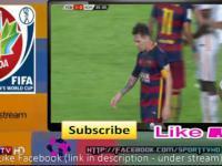 Lionel Messi uderza przeciwnika z główki i zaczyna go dusić !! Barcelona vs AS Roma 05/08/2015