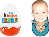 Kinder Surprise Eggs Unwrapping by Baby K