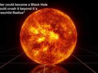 Porównanie wielkości czarnych dziur