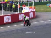 Niesamowita akcja w MotoGP