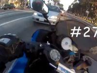 Niesamowity motocyklista - szczęście czy umiejętności?