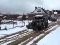 Jeep do odśnieżania