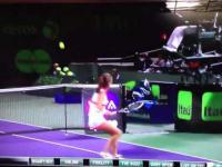 Nieprawdopodobne uderzenie w tenisie Agnieszki Radwańskiej