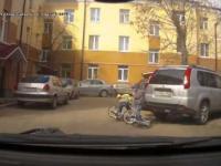 Kierowca sprowokował walkę na drodze