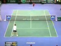 David Ferrer vs Jerzy Janowicz Finałowy Mecz 04-11-2012