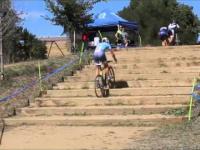 Pokonywanie schodów na rowerze - poziom mistrz