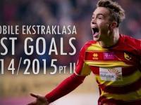 Najpiękniejsze bramki Ekstraklasy 2014/15 - część 2