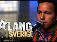 Niesamowity Lapończyk w Szwedzkim ,,Mam Talent''.