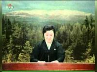 Płacz reporterki w Koreańsko Północnej telewizji
