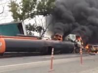 Truck Crash Compilation august 2015 Truck Accident 2015