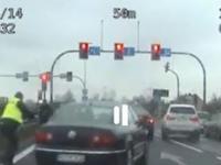 Pamiętacie pościg Policyjny A4. Tak wyglądał w oku kamery policyjnej.