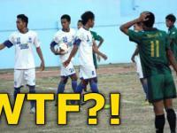 Najdziwniejsza końcówka meczu w historii piłki nożnej