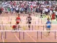 Przyszły mistrz świata w biegach przez płotki