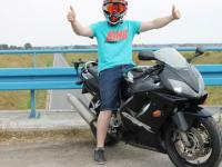 Moto Kooperacja - Adam MotoVlog, Czerwona, Biker Boyz TV