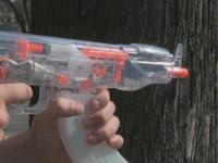 Elektryczny AK47 na wodę