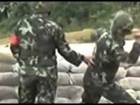 Szkolenia rzutu granatem w chińskiej armi
