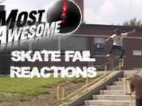 Top 6 reakcji skaterów po upadku