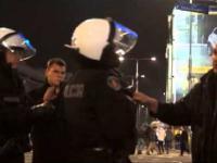 Bezczelna odmowa policjanta wylegitymowania prowokatorów na Marszu