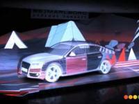 Niesamowita projekcja trójwymiarowa Audi A5