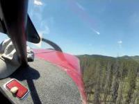 Katastrofa samolotu sfilmowana przez pasażerów