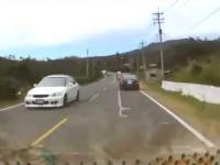 Przejechany przez własny samochód