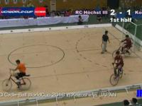 Piłka nożna na rowerach