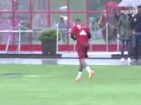 Lewandowski prawie pobił się z Boatengiem podczas treningu