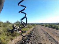 Wypadek na rajdzie Mendiolaza 2012