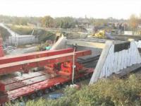 Budowa i podmiana mostu kolejowego