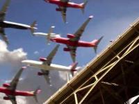 Wszystkie lądowania na lotnisku w San Diego