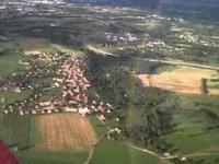 Tęcza widziana z samolotu
