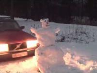 Pierwszy śnieg w Norwegii