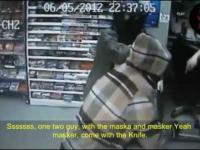 Dwóch złodziei przyszło okraść zły sklep