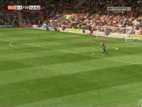 Piękna bramka Chrisa Cohena w meczu z Blackpool