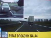 Pirat drogowy na A4 pod Katowicami