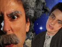 Epic Rap Battles of History-Einstein vs Stephen Hawking