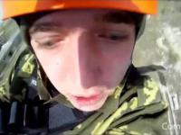 Rusek skacze na bungee
