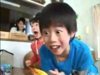 Japońska reklama happy meal.