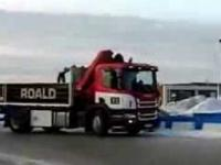 Driftowanie ciężarówką