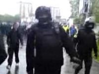 Agresja Policji wobec kibiców