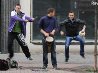 Wspieranie muzyków ulicznych