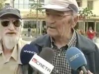 Dziadek zakłóca wywiad odgłosami zwierząt